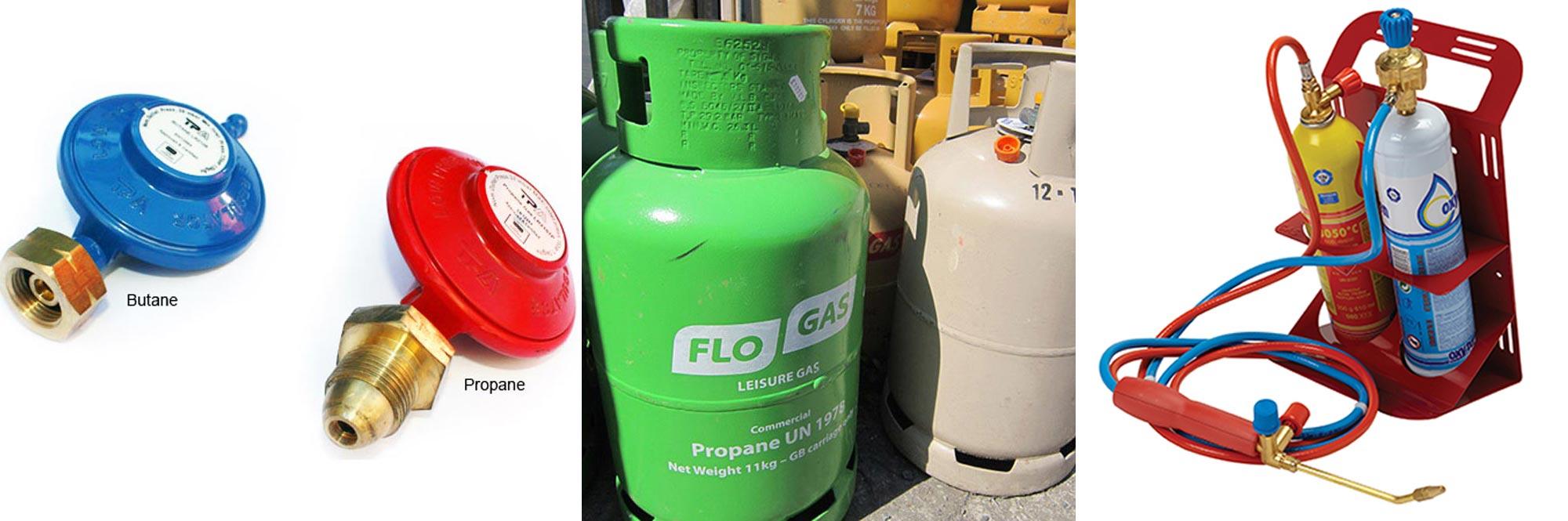 Acorn Roofing Supplies Bottles Gas